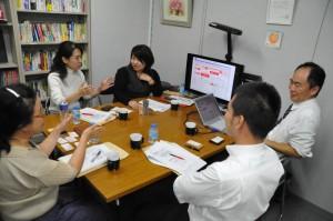 10年10月8日開催のgoogle向けSEO対策勉強会の様子