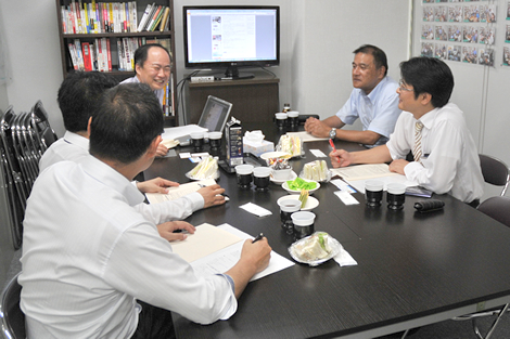 2015年7月28日  「ホームページ改善勉強会」開催報告